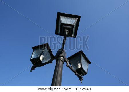 A lightpost made under the croatian