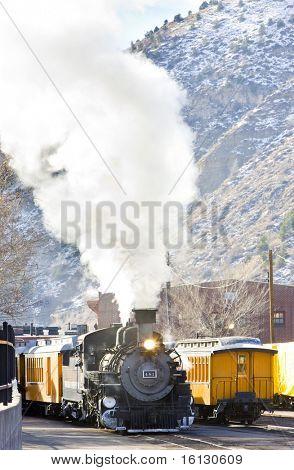 Durango   Silverton Narrow Gauge Railroad, Colorado, USA