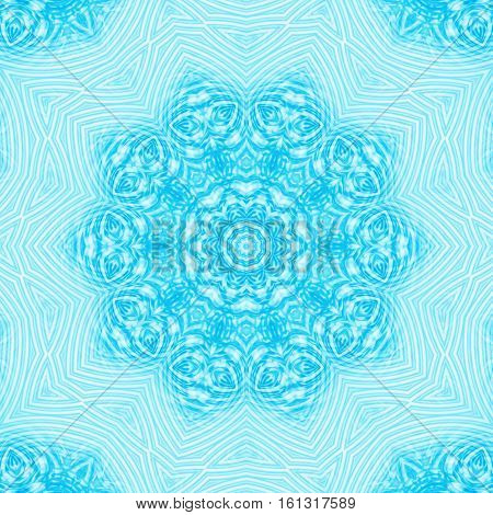 Abstract background with blue ripples concentric pattern