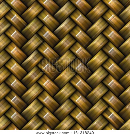 Twill Weave brown Texture. Abstract Geometric Background Design. Seamless Multicolor Pattern.