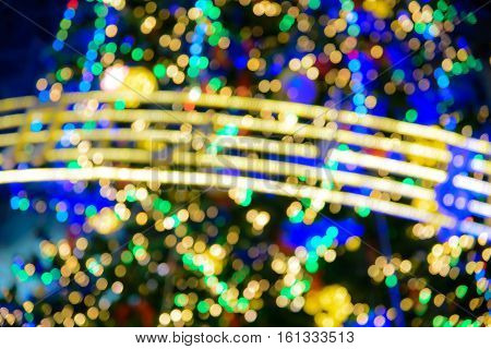 Abstract Bokeh Lights