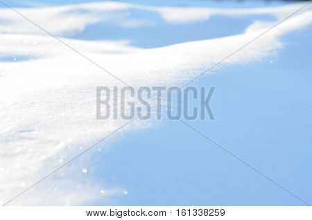 Snow texture for the background. Winter time