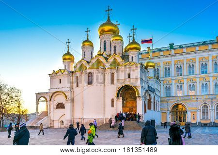 Cathedral of the Annunciation (Blagoveshchensky Sobor) Moscow