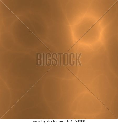 Orange or beige abstract gleaming cyberspace modern strange background