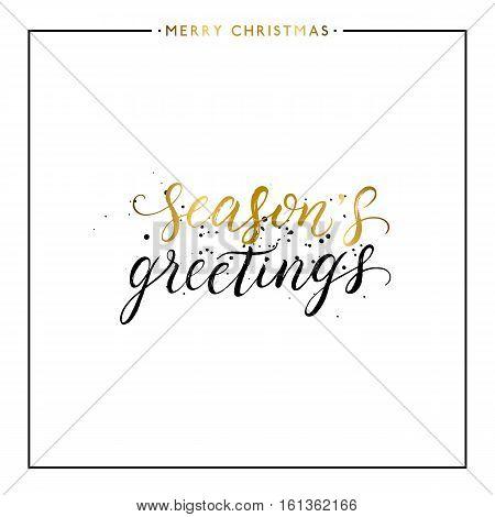 Seasons Greetings Vector & Photo (Free Trial)   Bigstock