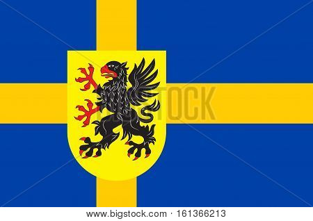 Flag of Sodermanland is a historical province on the south eastern coast of Sweden