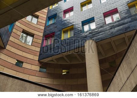 Apartment block in the City of London