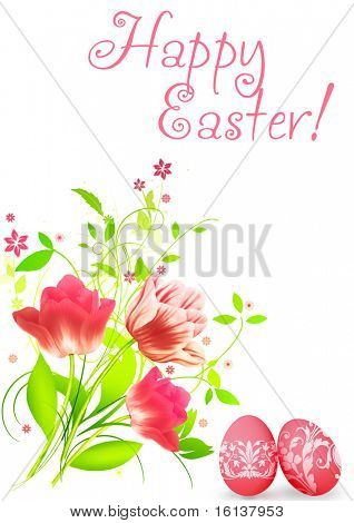 Spring flowers for Easter