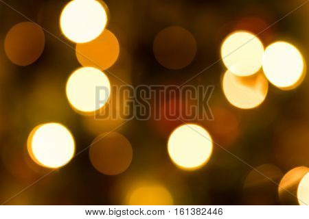 Abstract defocused Christmas lights background