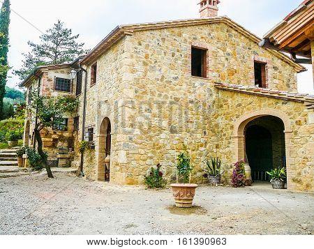 Hdr Vignoni, Italy