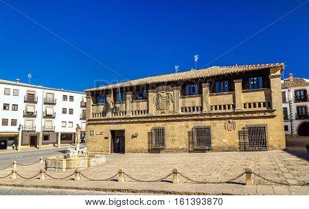 Antiguas Carnicerias, a historic building in Baeza - Spain, Andalusia