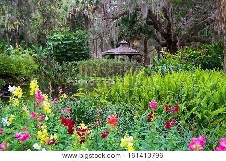 Botanical gardens at Washington Oaks State Park
