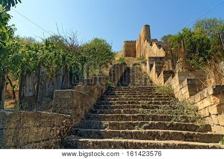 Stairs To The Naryn-kala Fortress. Derbent