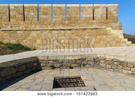 Zindan - Underground Prison In Naryn-kala Fortress. Derbent
