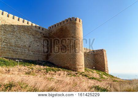 Wall Of Naryn-kala Fortress. Derbent