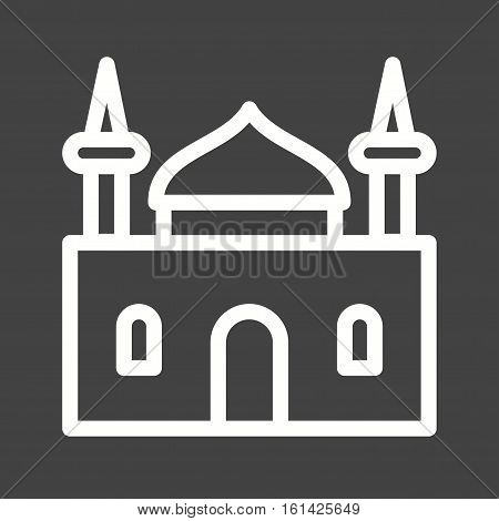 Holy, history, religion icon vector image. Can also be used for town. Suitable for use on web apps, mobile apps and print media.