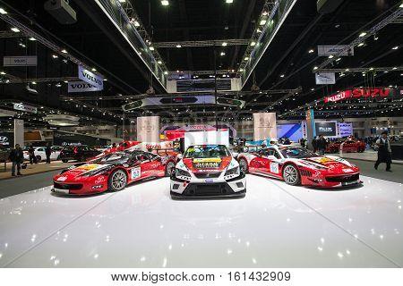 BANGKOK - November 30: Showroom of Singha Corporation on display at Motor Expo 2016 on November 30 2016 in Bangkok Thailand.