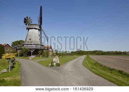 Windmill Messlingen (petershagen, Germany)