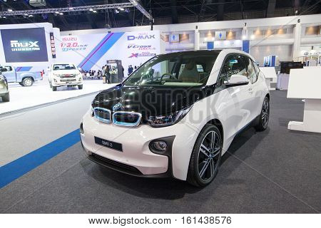 BANGKOK - November 30: BMW i3 car on display at Motor Expo 2016 on November 30 2016 in Bangkok Thailand.