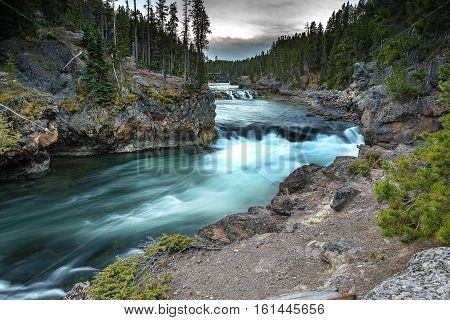 Brink Of Lower Yellowstone Falls