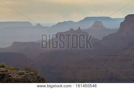 Beautiful Landscape Of South Rim Grand Canyon