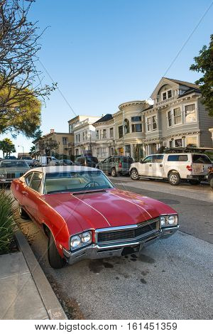 Classic Town In San Francisco