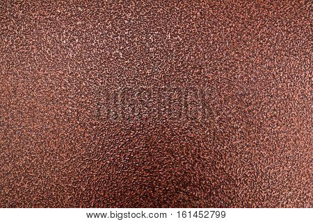 Metal, metal background, metal texture. Brown metal texture, brown metal background. Abstract metal background.