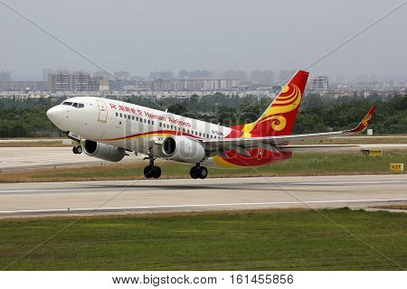 Hainan Airlines Boeing 737-700 Airplane