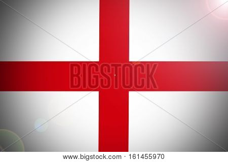 England national flag illustration symbol. England flag .