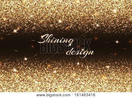Bokeh background. New year light. Christmas bokeh. Vector design.