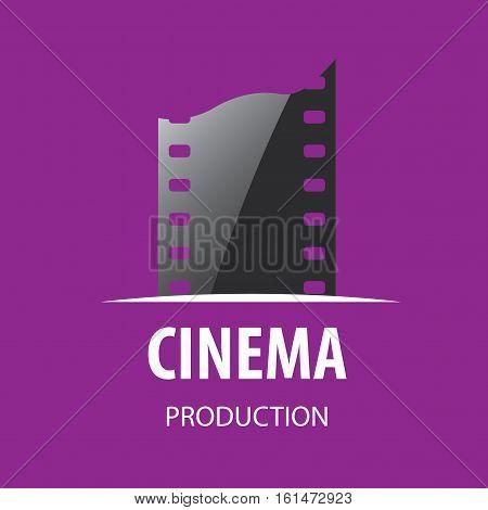 template design logo cinema. Vector illustration of icon