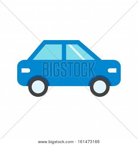 Car, sedan, travel icon vector image. Can also be used for vehicles. Suitable for use on web apps, mobile apps and print media.