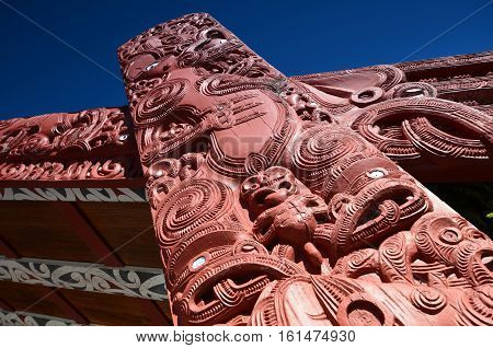 Maori - the indigenous people of New Zealand whose members were the main inhabitants of the islands before the arrival of Europeans on these lands. Today there are about 680000 representatives.