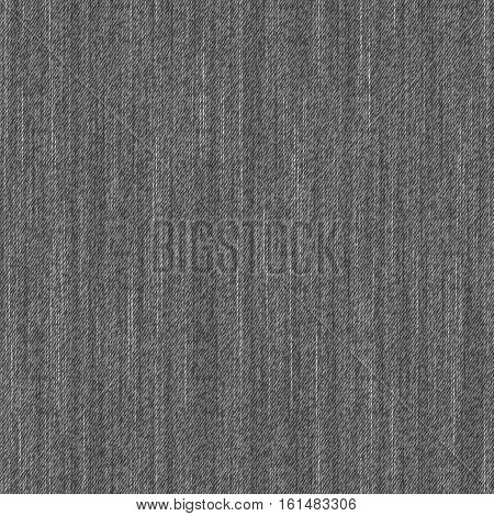 Fabric seamless pattern. Melange textile vector texture.