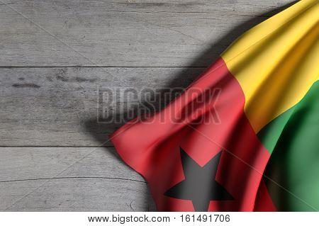 Republic Of Guinea-bissau Flag Waving