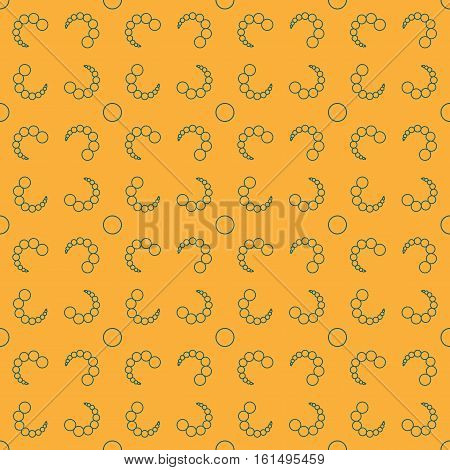 Bubbles chaotic seamless pattern. Fashion graphic background design. Modern stylish abstract texture. Colorful template for prints textiles wrapping wallpaper website etc Stock VECTOR illustration