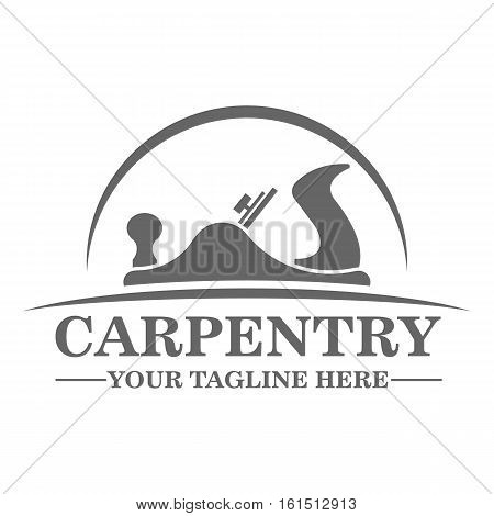Carpentry logo template design vector eps 10 poster