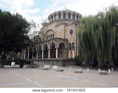 Sveta Nedelya Church in Sofia Bulgaria Europe
