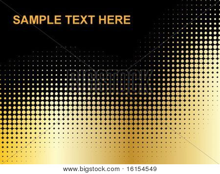 Abstract dots background - Sample Text