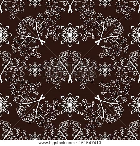 Abstract seamless pattern background. Vector background illustration.