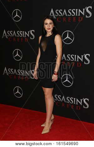 NEW YORK-DEC 13: Victoria Atkin attends the screening of