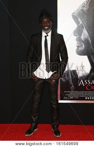 NEW YORK-DEC 13: Michael K. Williams attends the screening of