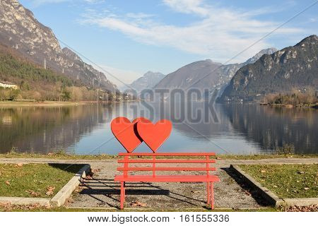 A love of Lake - Lake of Idro in Sabbia Valley - Brescia - Lombardy - Italy