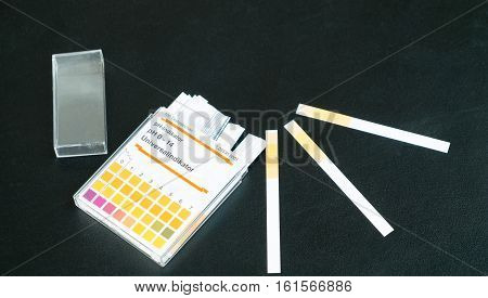 pH indicator for pH test Science Laboratory