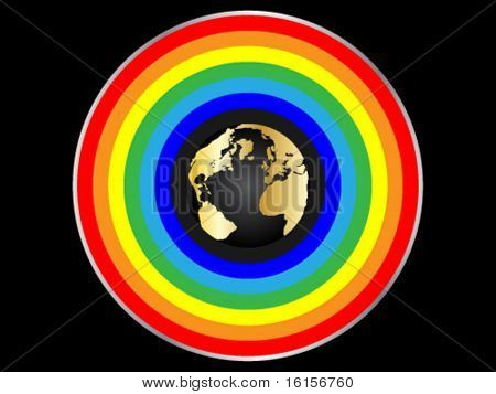 rainbow around the world