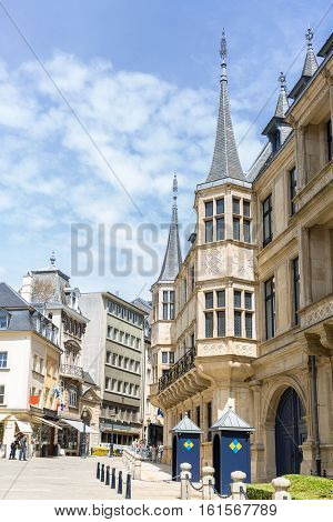Luxembourg Grand Ducal Palace, Luxembourg city