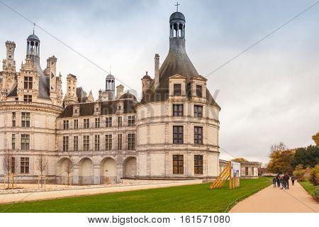 Chateau De Chambord, Medieval Castle