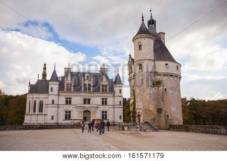 Chenonceau, Medieval Castle, Loire Valley