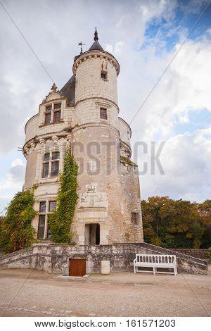 Tower Of Chateau De Chenonceau