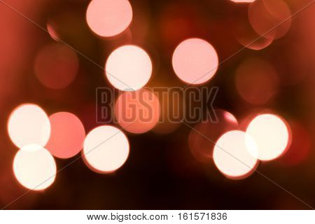 Defocused holiday christmas lights background
